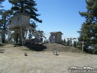 Chair Lifts at the top of Mt High