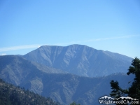 Pine Mountain Ridge below Mt Baldy - Wrightwood CA Mountains