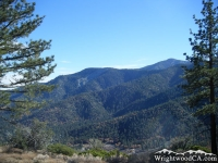 Wright Mountain and Blue Ridge - Wrightwood CA Mountains