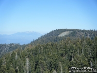 Top of Wright Mountain and Blue Ridge - Wrightwood CA Mountains