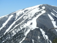 North ridge of Mt Baldy (where the North Backbone Trail climbs) - Wrightwood CA Mountains