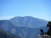 Mt Baldy above Pine Mountain Ridge - Wrightwood CA Mountains