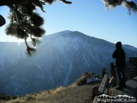 Mt Baden Powell from Inspiration Point  - Wrightwood CA Mountains