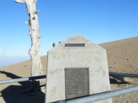 Boy Scout Monument at the peak of Mt Baden Powell - Wrightwood CA Mountains