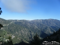 South side of Blue Ridge as viewed from Mt Baden Powell - Wrightwood CA Mountains