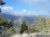 South side of Blue Ridge as viewed from Fish Fork Trail - Wrightwood CA Mountains