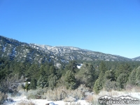Wrightwood side of Blue Ridge during winter - Wrightwood CA Mountains