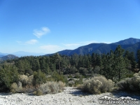Blue Ridge (right) viewed from Table Mountain Ridge - Wrightwood CA Mountains