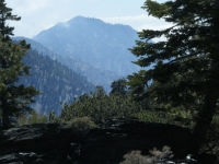 Iron Mountain above Fish Fork - Wrightwood CA Mountains