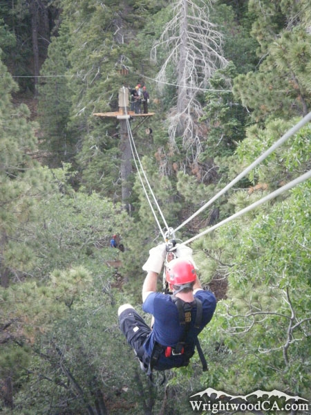Big Pines Zipline Tours in Wrightwood and Southern California