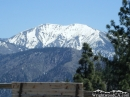 Snow on Mt. Baldy during Spring. - Wrightwood CA Photos