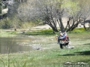 Fishing at Jackson Lake in Spring. - Wrightwood CA Photos