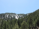Snow melting off San Gabriel Mountains in Spring. - Wrightwood CA Photos