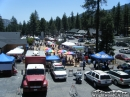 Wildfire and Disaster Awareness Day in front of the Hardware Store. - Wrightwood CA Photos