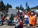 Everyone enjoying the Wildfire Awareness Event. - Wrightwood CA Photos