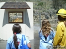 Putting out a fire at the Event. - Wrightwood CA Photos