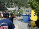 Dunk Tank Booth at Wildfire Awareness Day. - Wrightwood CA Photos