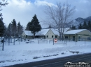 Wrightwood Elementary School in the snow. - Wrightwood CA Photos
