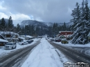 Park Drive in downtown Wrightwood after Winter Storm. - Wrightwood CA Photos