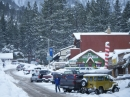 More Wrightwood Businesses on Park Drive after Snow storm. - Wrightwood CA Photos