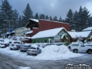 Evergreen Cafe in Wrightwood after Snow storm. - Wrightwood CA Photos