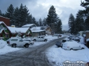 Evergreen Road in Wrightwood after big Winter Storm. - Wrightwood CA Photos