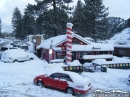 The Yodeler in Wrightwood after Winter Storm. - Wrightwood CA Photos