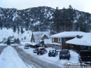 Businesses on Park Drive after Snow storm. - Wrightwood CA Photos