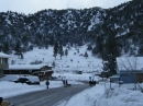 Cedar Street in Wrightwood after Winter storm. - Wrightwood CA Photos