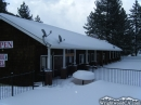 Cedar Lodge with Snow. - Wrightwood CA Photos