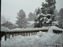 Snowing again in Wrightwood. - Wrightwood CA Photos