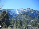 Wright Mountain in the snow. - Wrightwood CA Photos