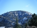Circle Mountain in the snow. - Wrightwood CA Photos