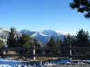 Blue Ridge, Pine Mountain, and Mt. Baldy as seen from Inspiration Point in the Winter. - Wrightwood CA Photos