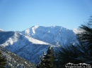 Mt. Baldy and Pine Mountain Ridge in the Winter. - Wrightwood CA Photos