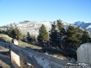 Back side of Blue Ridge as seen from Inspiration Point in the Winter. - Wrightwood CA Photos