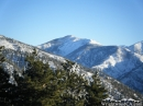 Snow-capped Pine Mountain in the Winter. - Wrightwood CA Photos