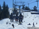 Riding the Mountain High Express to the top of Mt High East Resort. - Wrightwood CA Photos
