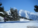 Mt Baldy as viewed from the top of the East Resort at Mt High. - Wrightwood CA Photos