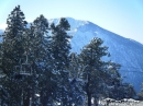 Discovery Chair Lift in front of Mt Baden Powell at the East Resort of Mt High. - Wrightwood CA Photos