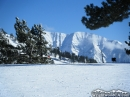 Mt Baldy from the top of East Resort of Mountain High. - Wrightwood CA Photos