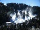 Snow-making (blowing snow) at Mt High