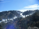 Snow-making at Mt High West from Table Mountain Road. - Wrightwood CA Photos