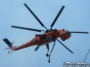 Fire Helicopter above Wrightwood. - Wrightwood CA Photos