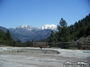 Snow-capped Pine Mountain and Mt Baldy as viewed from Vincent Gap. - Wrightwood CA Photos