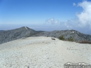 Peak of Mt Baldy, looking back at Pine Mountain and Dawson Peak in Summer - Wrightwood CA Photos