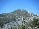 Pine Mountain viewed from backside of Wright Mountain in summer - Wrightwood CA Photos