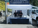 Brett and Ryan Murphy in the WrightwoodCA.com booth at Mountaineer Days 2011 - Wrightwood CA Photos