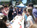 Watermelon eating contest at Mountaineer Days 2011 - Wrightwood CA Photos