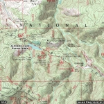 Map of Jackson Lake Picnic Area - Wrightwood CA